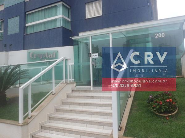 256985, Apartamento de 3 quartos, 82.0 m² à venda no Ed Crystal Place, Residencial do Lago - Londrina/PR